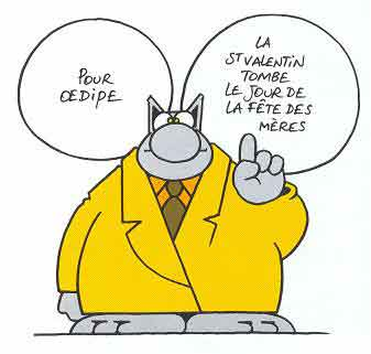 Le Chat 1999,9999 de Philippe Geluck
